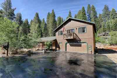Truckee Single Family Home Contingent: 10604 Pine Cone Road