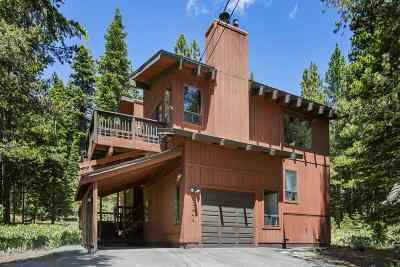 Tahoe Donner Single Family Home For Sale: 12845 Hansel Avenue
