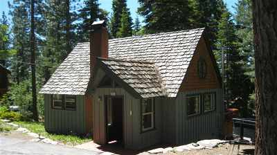 Tahoe City, Tahoe Vista, Carnelian Bay Single Family Home For Sale: 655 Tunnington Drive