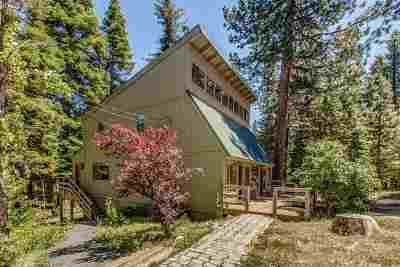 Truckee Single Family Home For Sale: 12305 Rainbow Drive
