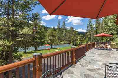 Olympic Valley Single Family Home For Sale: 6400 River Road