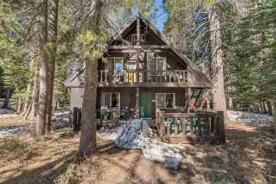 Truckee, Soda Springs, Carnelian Bay, Olympic Valley Single Family Home For Sale: 5141 Soda Springs Road