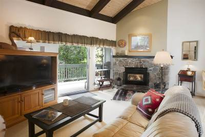 Tahoe City Condo/Townhouse For Sale: 3200 North Lake Boulevard #16
