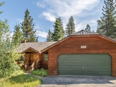 Truckee Single Family Home For Sale: 16680 Northwoods Boulevard