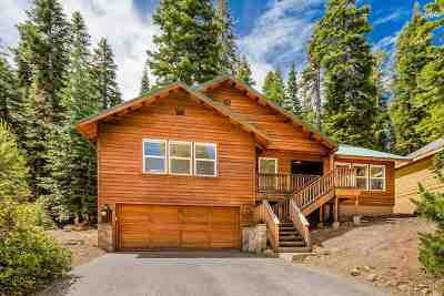 Tahoe Donner Single Family Home For Sale: 14037 Hansel Avenue