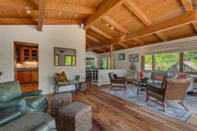 Tahoe City, Tahoe Vista, Carnelian Bay Single Family Home For Sale: 208 Observation Drive