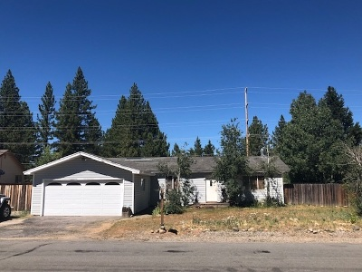 Truckee CA Single Family Home For Sale: $499,000