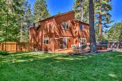 Tahoe City CA Single Family Home For Sale: $970,000