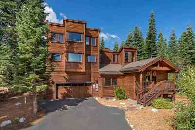 Tahoe Donner Single Family Home For Sale: 14865 Northwoods Boulevard
