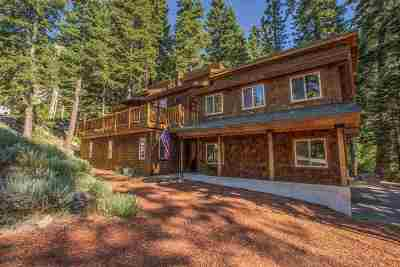 Alpine Meadows CA Single Family Home For Sale: $1,100,000