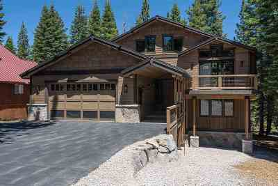 Tahoe Donner Single Family Home For Sale: 14643 Tyrol Road