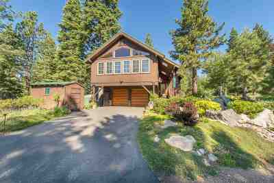 Truckee, Soda Springs, Carnelian Bay, Olympic Valley Single Family Home For Sale: 3895 Lacrosse Drive