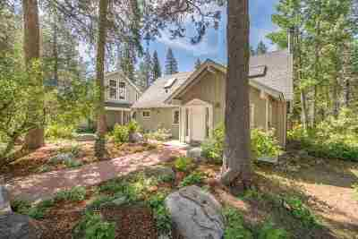 Truckee, Soda Springs, Carnelian Bay, Olympic Valley Single Family Home For Sale: 249 Forest Glen Road