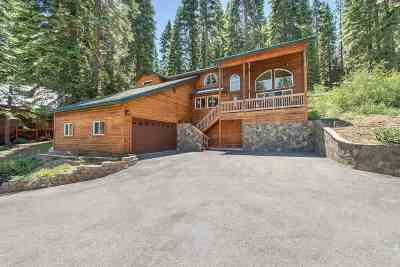 Tahoe Donner Single Family Home For Sale: 14255 Herringbone Way