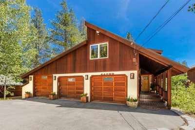 Tahoe Donner Single Family Home For Sale: 11750 Bennett Flat Road