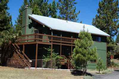 Tahoe Donner Single Family Home For Sale: 14165 Wolfgang Road