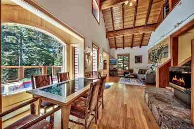 Tahoe City, Tahoe Vista, Carnelian Bay Single Family Home For Sale: 4050 Nightingale Road