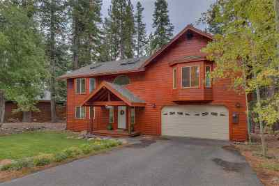 Tahoe City CA Single Family Home For Sale: $925,000