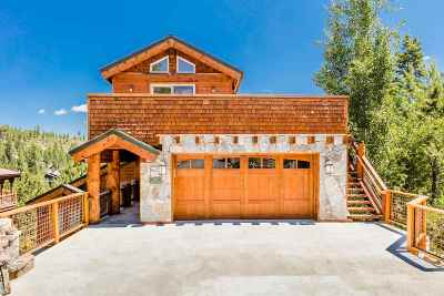 Tahoe Donner Single Family Home For Sale: 13155 Hillside Drive