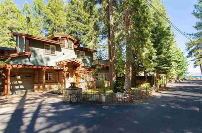 Tahoe City, Tahoe Vista, Carnelian Bay Single Family Home For Sale: 20 Aspen Street