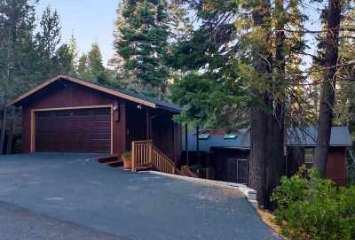 Truckee Single Family Home For Sale: 10792 Heather Road