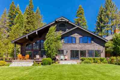 Single Family Home For Sale: 15675 Donner Pass Road
