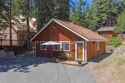 Truckee Single Family Home For Sale: 12830 Dulzura Street