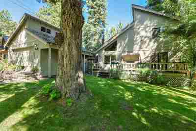 Tahoe City Single Family Home For Sale: 211 Observation Drive