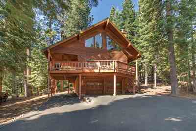 Tahoe Donner Single Family Home For Sale: 13677 Davos Drive