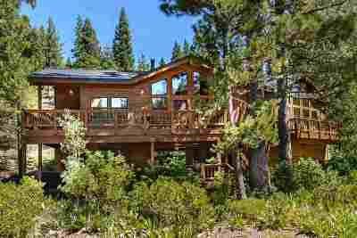 Alpine Meadows CA Single Family Home For Sale: $1,090,000