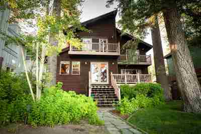 Tahoe City, Tahoe Vista, Carnelian Bay Single Family Home For Sale: 7412 North Lake Boulevard