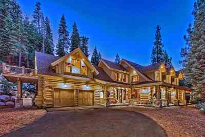 Tahoe City, Tahoe Vista, Carnelian Bay Single Family Home For Sale: 580 Granlibakken Road