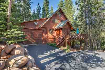 Truckee CA Single Family Home For Sale: $729,000