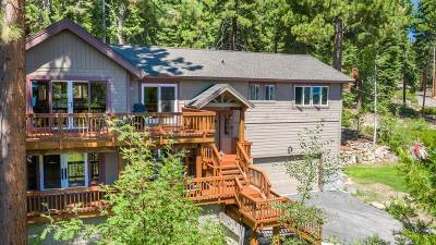 Tahoe City, Tahoe Vista, Carnelian Bay Single Family Home For Sale: 301 Wildrose Drive