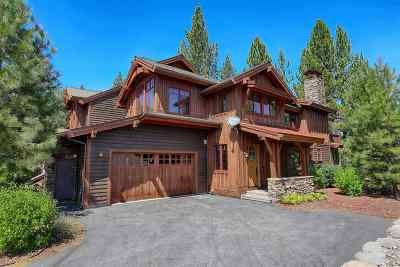 Truckee CA Condo/Townhouse For Sale: $1,395,000