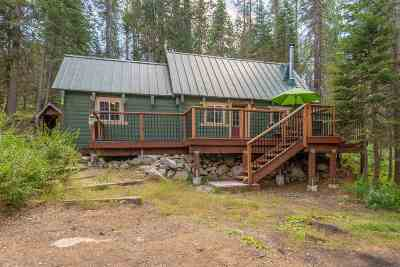 Soda Springs Single Family Home For Sale: 51595 Donner Pass Road