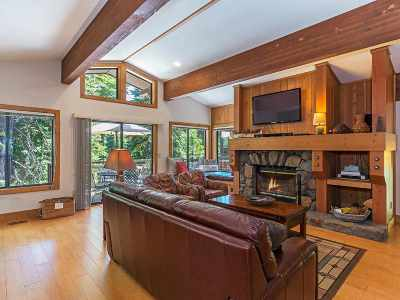 Tahoe City Condo/Townhouse For Sale: 1877 North Lake Boulevard #113