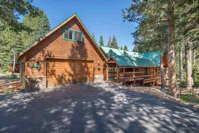 Tahoe Donner Single Family Home For Sale: 14778 Copenhagen Drive