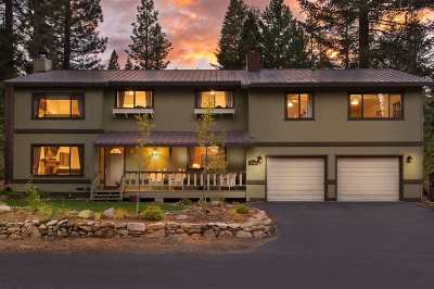 Tahoe City, Tahoe Vista, Carnelian Bay Single Family Home For Sale: 5769 Dodowah Road