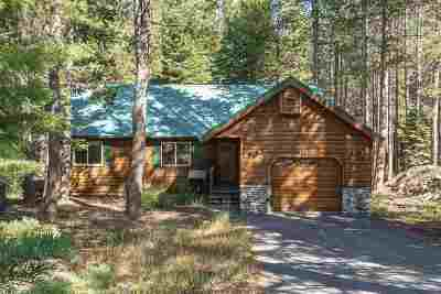 Tahoe Donner Single Family Home For Sale: 14850 Northwoods Boulevard