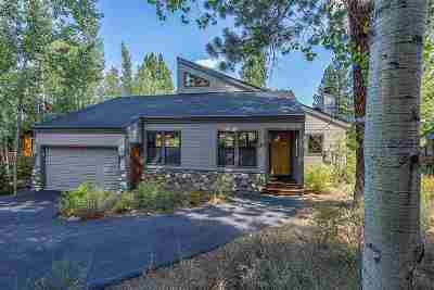 Truckee CA Single Family Home For Sale: $995,000