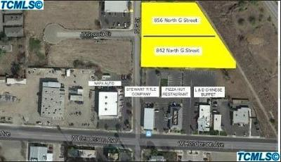 Tulare County Residential Lots & Land For Sale: 856 N G Street