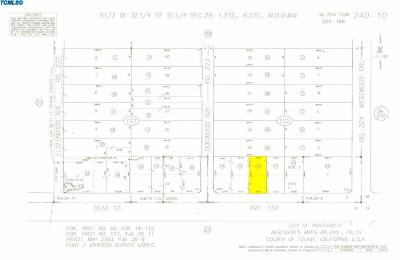 Tulare County Residential Lots & Land For Sale: 22334 Avenue 152