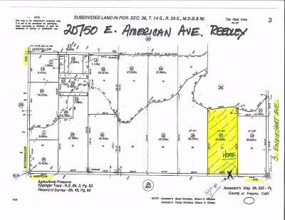 Reedley Single Family Home For Sale: 20750 E American Avenue