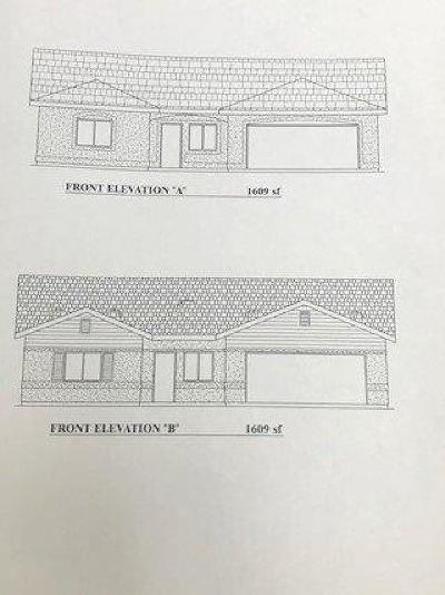 Farmersville Single Family Home For Sale: 1555 Steven #Lot58