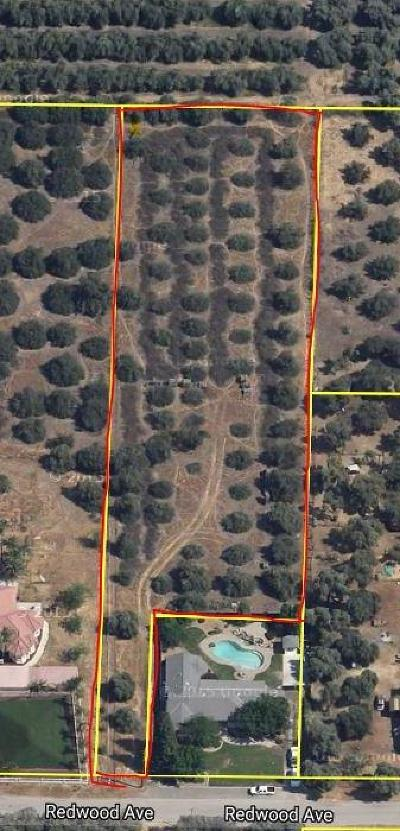 Tulare County Residential Lots & Land For Sale: 1.54 Acres On Redwood Ave