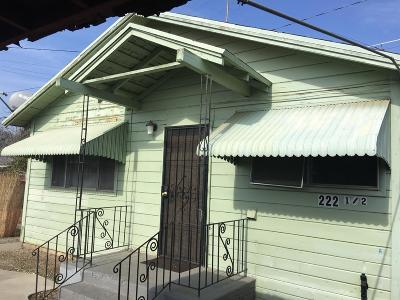 Hanford Single Family Home For Sale: 222 W 2nd Street