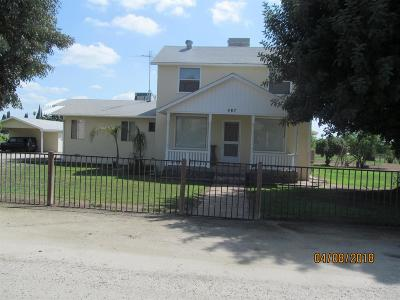 Porterville Single Family Home For Sale: 487 E Gibbons Avenue