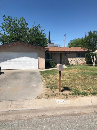 Porterville Single Family Home For Sale: 1219 Lowery Street