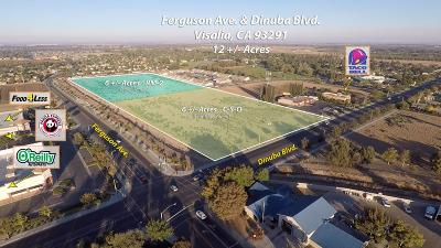 Visalia Residential Lots & Land For Sale: Dinuba Boulevard